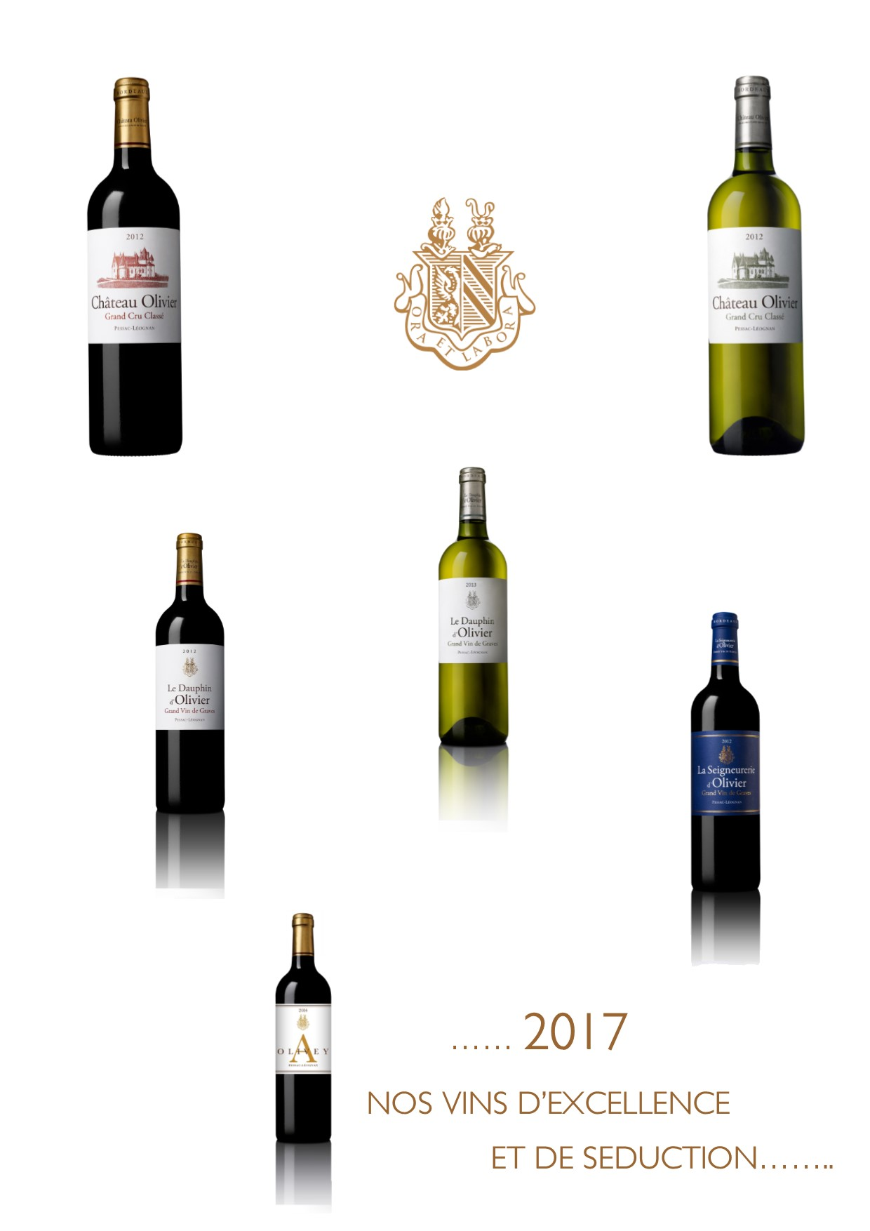 THE NEW YEAR 2017 STARTS AT CHATEAU OLIVIER GRAND CRU CLASSE PESSAC LEOGNAN